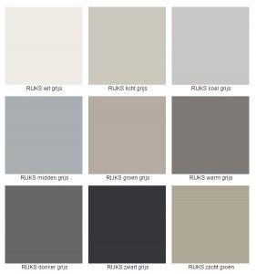 Sikkens rijks kleuren; warm grijs