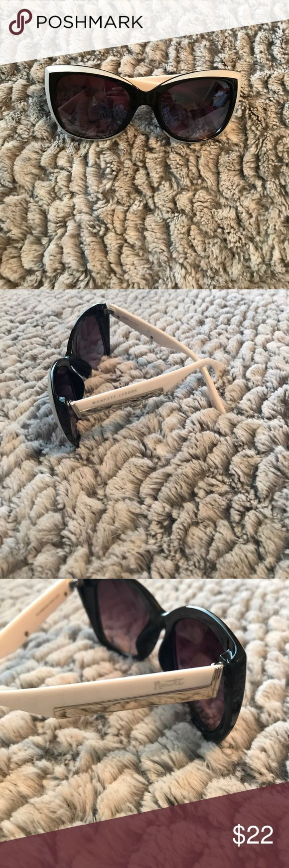 Nanette Lepore Sunglasses Never worn Nanette Lepore sunglasses. Purchased at TJ Maxx without a case; will ship in soft clothe case. Fun pair, well made. Comes from smoke and pet free home. Nanette Lepore Accessories Sunglasses