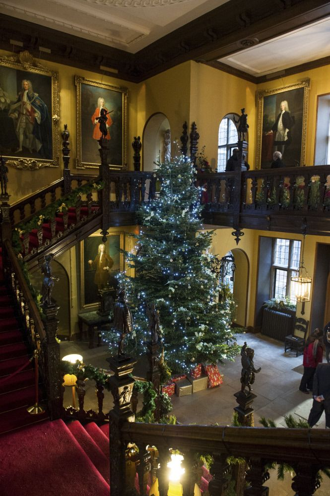 The 18ft Christmas tree at Blickling Estate. ©National Trust Images/Adrian Judd.