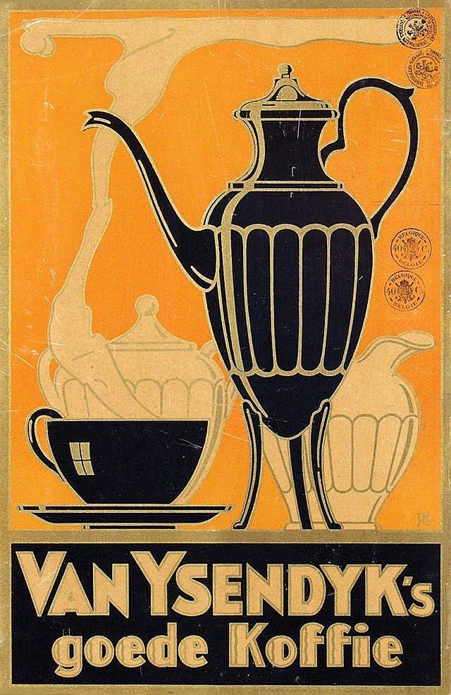 Van Ysendyk's coffee vintage advertisement - 1910