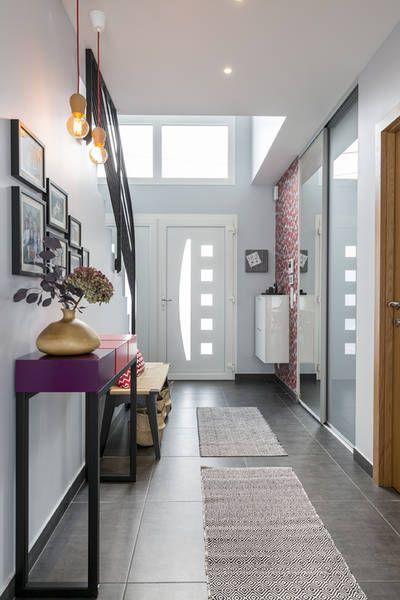 miniature Une entrée familiale qui donne le ton, région parisienne, Delphine Guyart - décorateur d'intérieur