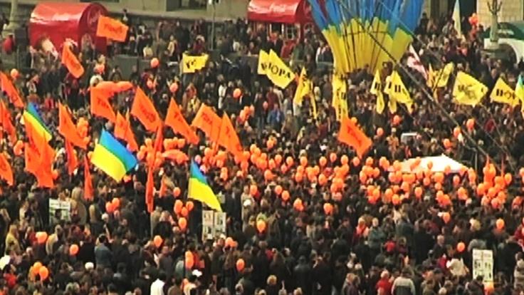 Orange Revolution demonstrators.