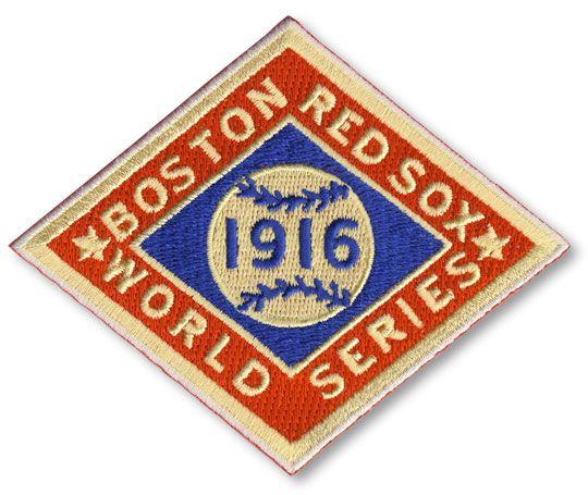 1916 Boston Red Sox MLB World Series Championship Jersey Patch
