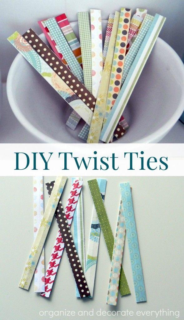 DIY Twist Ties