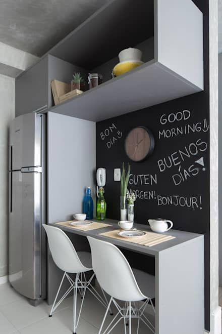 Vila Madalena | Decorados: Cozinhas modernas por SESSO & DALANEZI