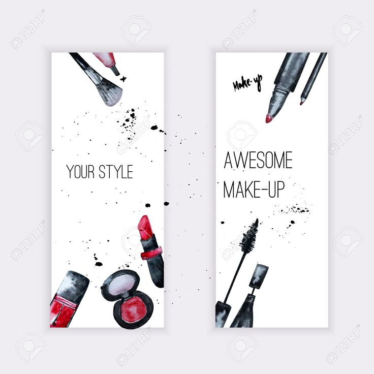 42420735-Vector-watercolor-Glamorous-make-up-set-of-banners-with-nail--Stock-Photo.jpg (1300×1300)