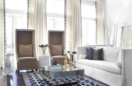 Merveilleux High Back Living Room Chair