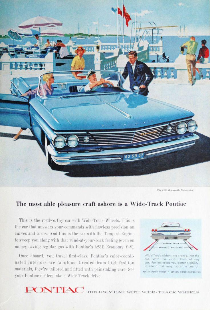 """the60sbazaar: """" 1960 Pontiac advertisement """""""