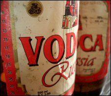 Vodka fungerer bra som rengjøringsmiddel.Foto: Leher Mor