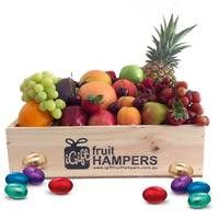 Easter Fruit Gift Hamper  Easter Hampers   Our range of Easter Hampers make the perfect gift to let someone know you are thinking about them this Easter.  Select some easter eggs or silk flowers to make your gift pop with color! We offer FREE SHIPPING on all our deliveries and a full sized Easter Card will be included.  http://www.igiftfruithampers.com.au/categories/easter-hampers.html  #easter #eastergifts #easterhampers #hampers #gifts #eggs #easteregg #eastergifthampers…