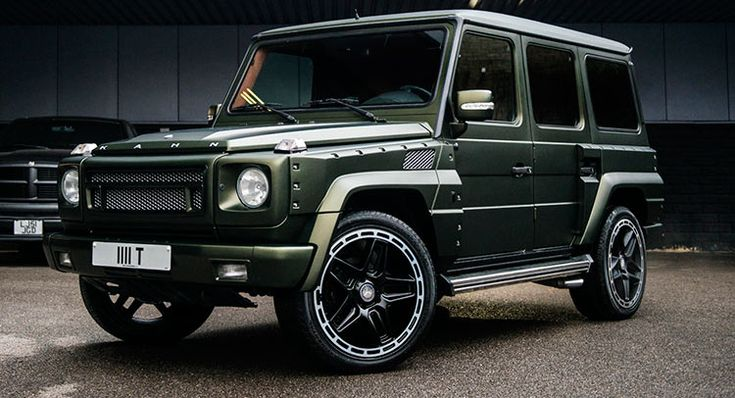 Mercedes G-Wagen By Kahn Is a One-Off And It's For Sale