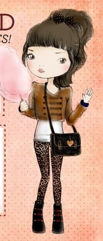 47 street clothes--ok, it's a cartoon, but that's a good look.