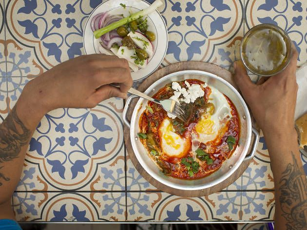 From the best meat restaurant in town to delicious new pop-ups and shakshuka treasures, these five hidden spots behind the Carmel Market are a must