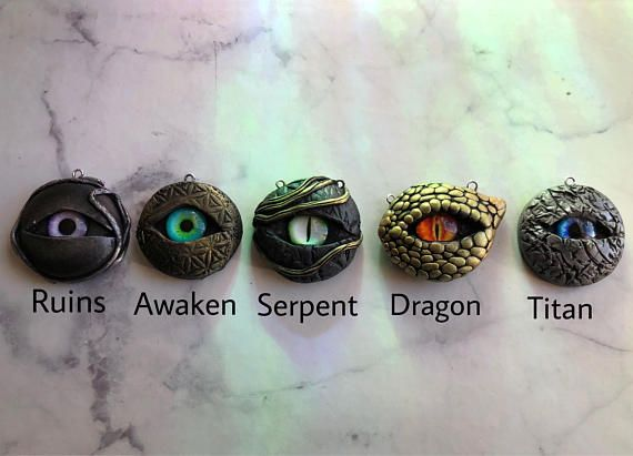 Mystical Eye Pendants  Variety of Colors and Styles #diy #crafts #glasswork #frequencygear #TheCosmicGarden