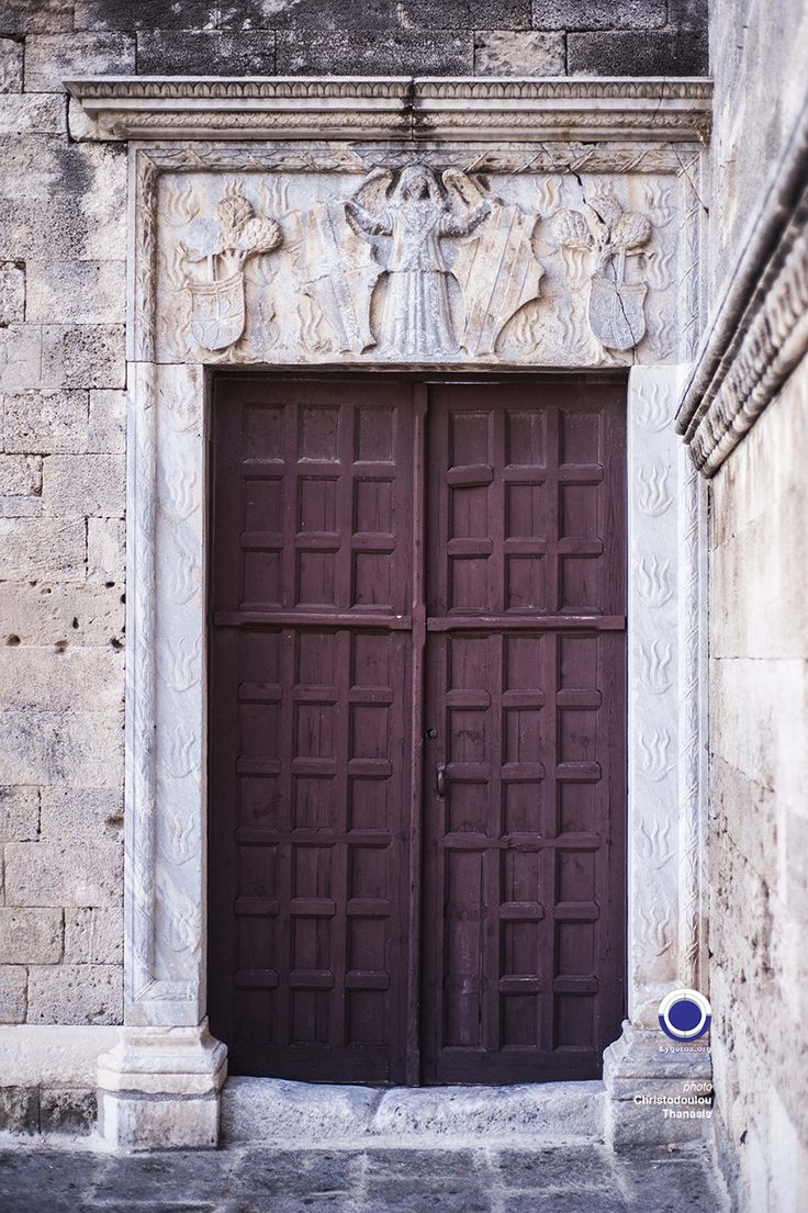 Castellania Door. Old Town Rhodes. #rhodes #greece #door #medieval #old #town #island #dodecanese