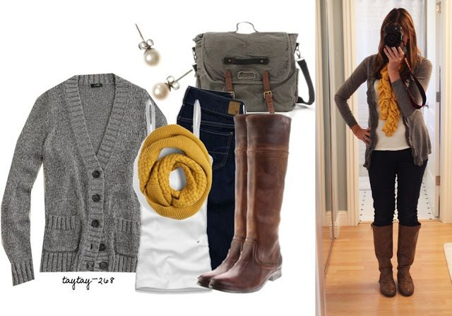 Pinterest Told Me To: Pinterest Told MEL To! This blog is awesome to see how all these outfits actually look on someone!