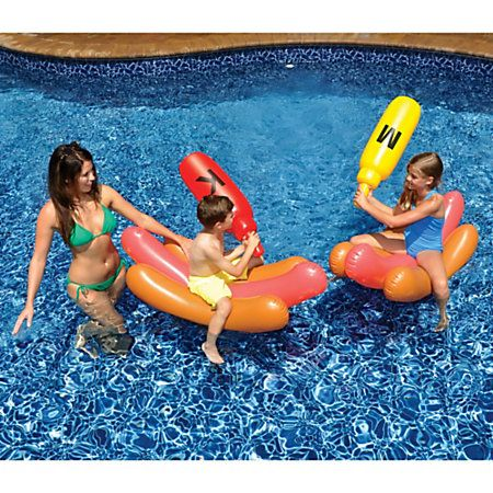 Swimline Hot Dog Battle Pool Game - Overton's
