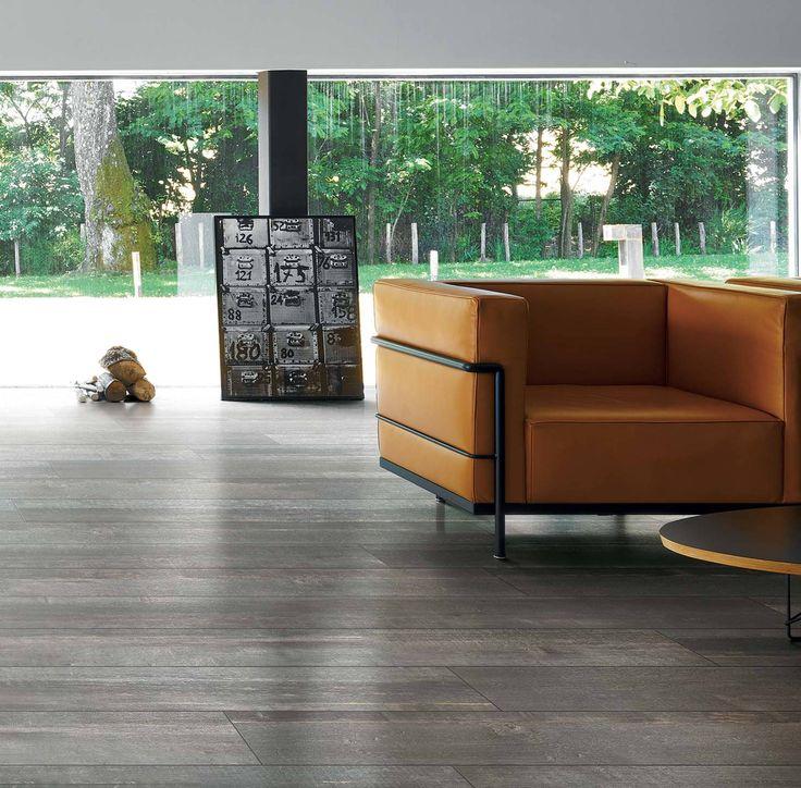 72 best Carrelage aspect parquet bois gris images on Pinterest - revetement exterieur imitation bois