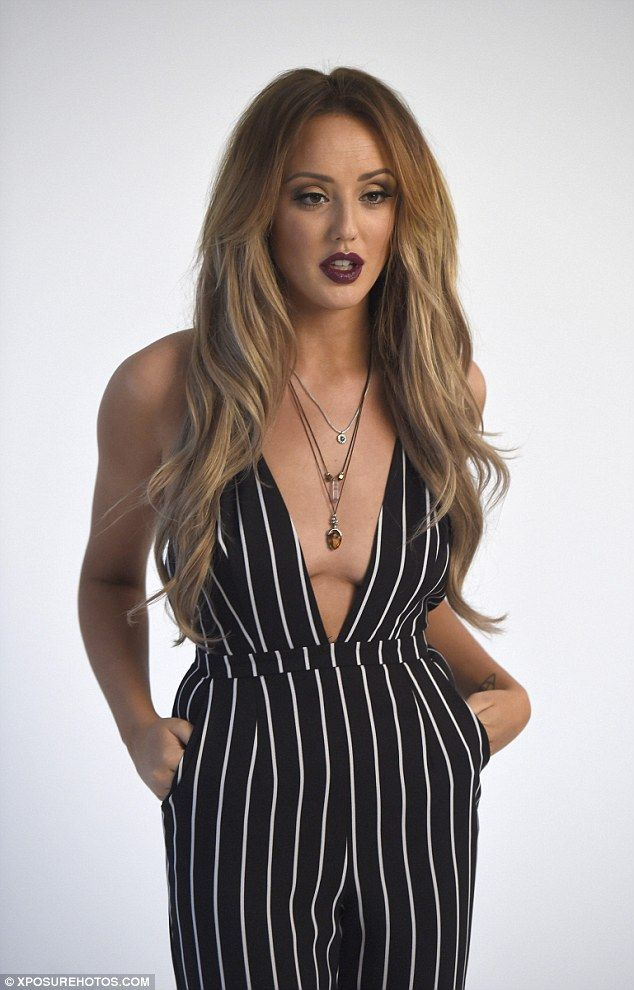 Lot of front: Charlotte Crosby dares to bare her new slim-line body in a shoot for her new...