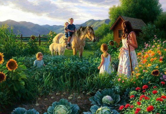 What a Wonderful Picture example of the promise Jehovah God has made through the Book of Isaiah 65: 21 ... And they will certainly build houses and have occupancy, and they will certainly plant vineyards and eat [their] fruitage. Thank you Jehovah