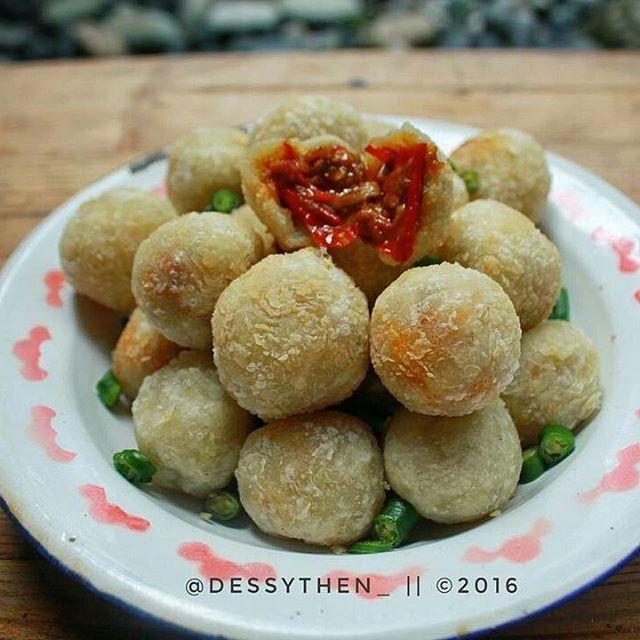 Cilok Crispy Cemilan Resep Resep Makanan Sehat