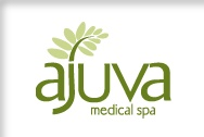 Klündt | Hosmer logo design for Ajuva Medical Spa