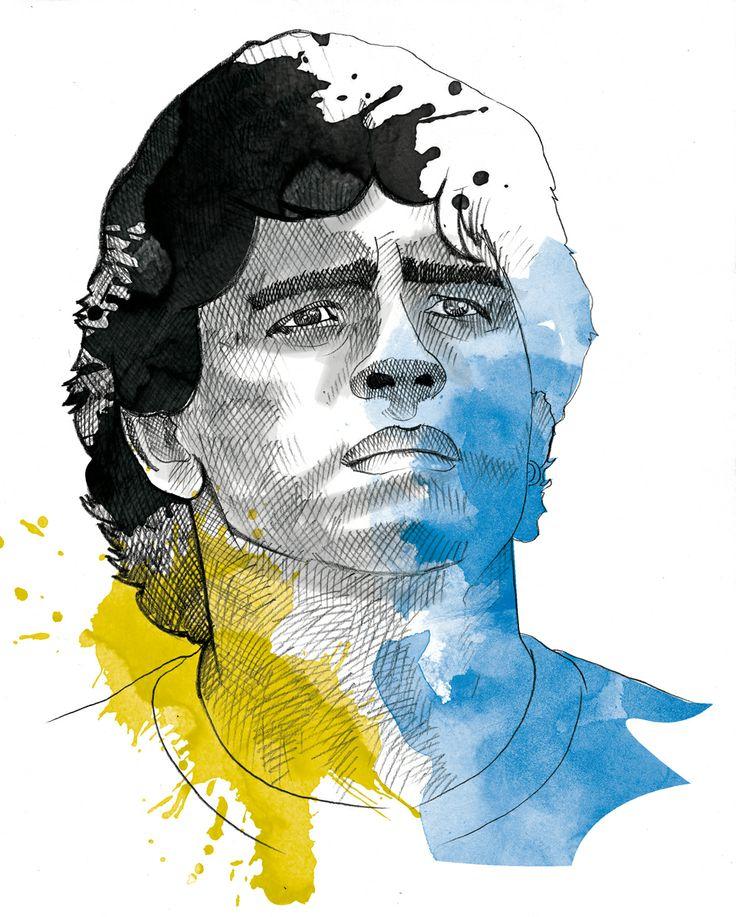 Diego Maradona. Argentina soccer player #SuramericaDreamTeam