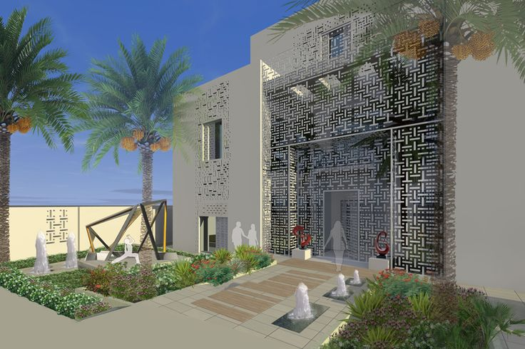 ARK - KASSAM | Architectural & Engineering Consultations | Projects | Lusail-Naqsh house in Qatar
