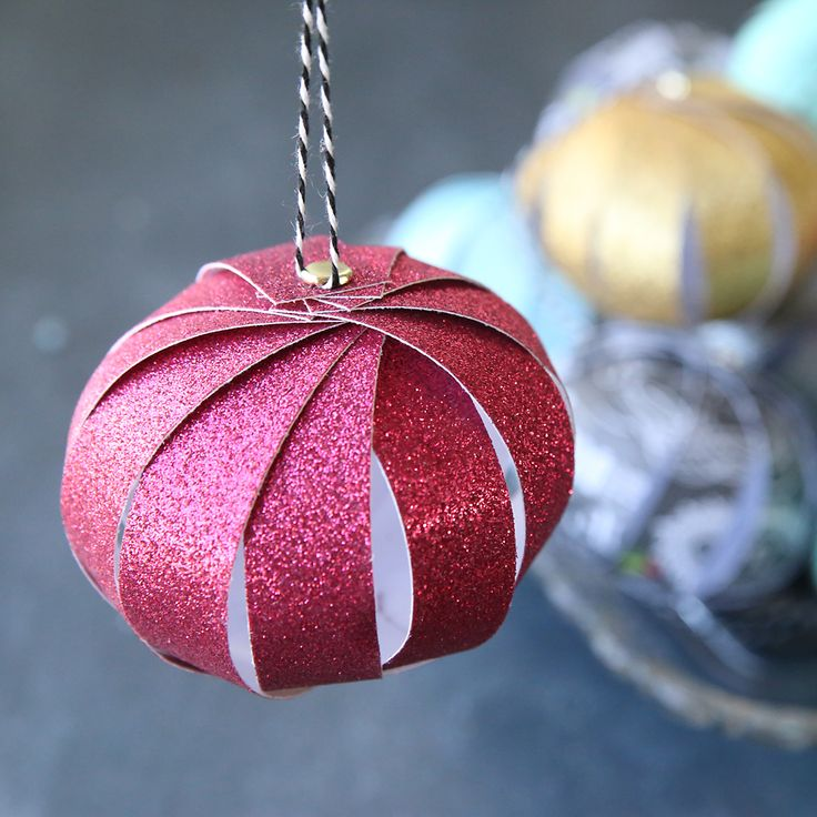 25+ Unique Paper Christmas Ornaments Ideas On Pinterest