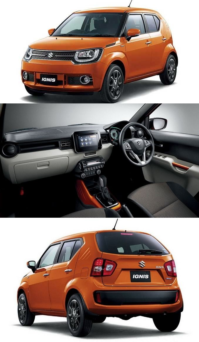 Maruti suzuki has showcased its latest compact crossover named ignis at the 2015 tokyo motor show
