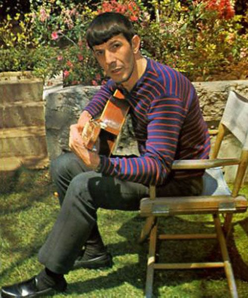 Leonard Nimoy - were they all that young? Another fav of mine.