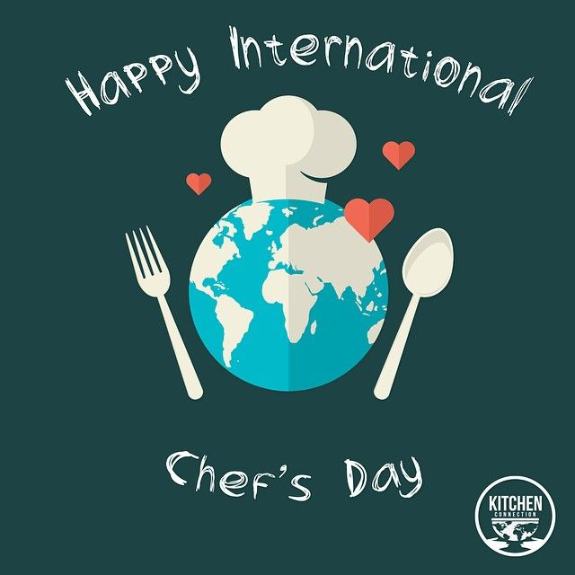 Happy International Chef's Day to all of our cheffies out there! #internationalchefsday #worldchefs #kitchenconnection #kitchenconnection.org #wherefoodlinkstheworld