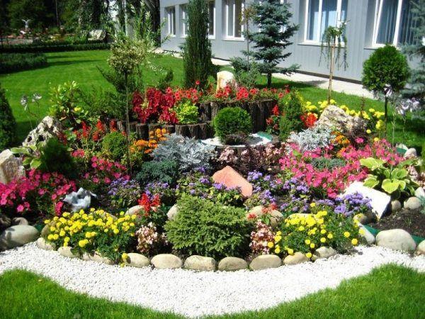 25+ best ideas about steingarten ideen on pinterest | römersalat, Garten ideen gestaltung