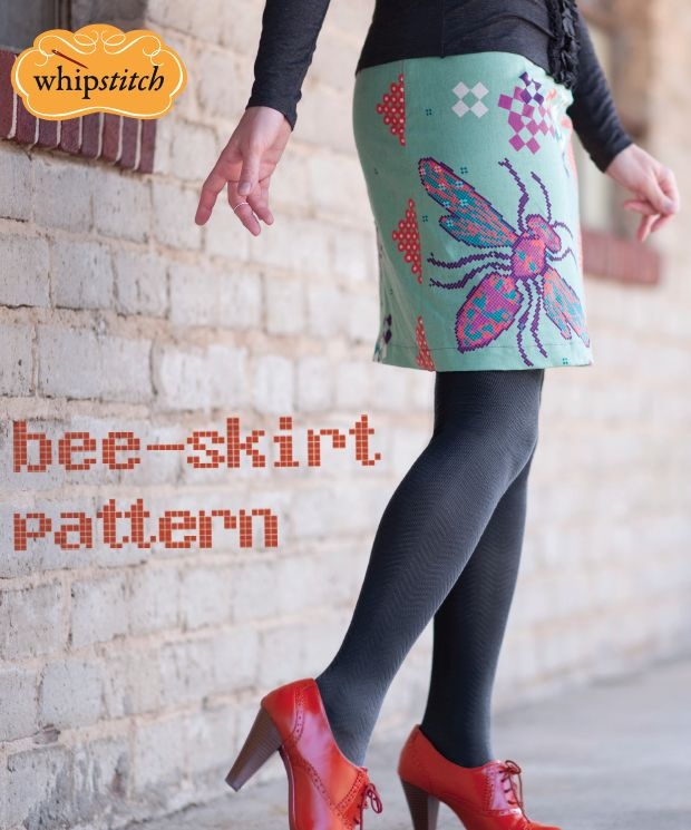 easy a line skirt with free pattern and tutorial