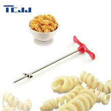 Manual Roller Spiral Slicer Radish Potato Tools Vegetable Spiral Cutter Kitchen Accessories Fruit Carving Tools(China (Mainland))