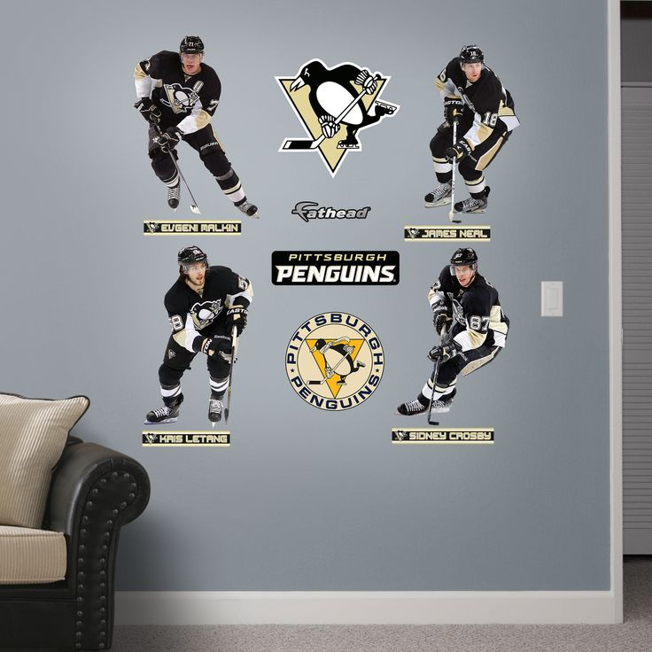 Pittsburgh Penguins Fathead wall decals are revolutionizing Pittsburgh  Penguins posters and wall stickers  Score vibrant Pittsburgh Penguins decor  for your. 17 Best images about Game Room on Pinterest   Nhl pittsburgh