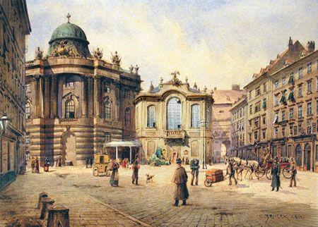 das-alte-burgtheater-aquarell-auf-papier-signiert-und-datiert-1912-carl-wenzel-zajicek
