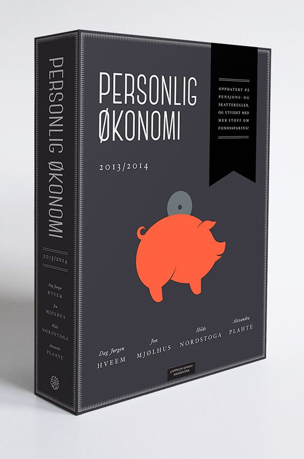Book cover | Personlig økonomi on Behance