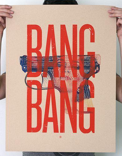 Todos os tamanhos | Bang Bang screen print | Flickr – Compartilhamento de fotos!