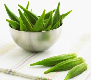 Okra Botanically, okra belongs to the mallow family. Much like real marshmallow, the mucilage, a sticky substance containing polysaccharides, hel