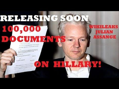 ALERT: WIKILEAKS: New DNC Leaks Blow Hillary's Health and Obama's Corruption Wide Open - YouTube