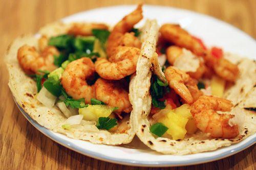 shrimp tacos | Drooling. | Pinterest