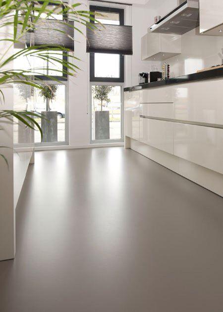 marmoleum floor