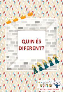 Quin és diferent? - ¿Cual es diferente? - Which is different? - ST. JORDI. DETALLS AMB ÀNIMA