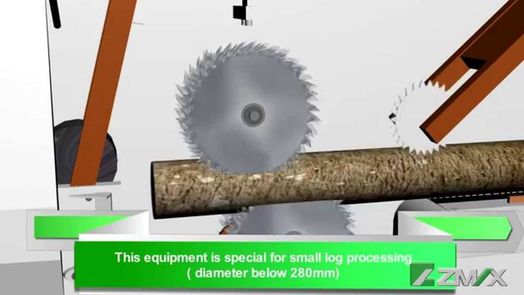 ZMAX round multi-rip saw machine/multiblade log saw/ MJ-1430 (3D), this machine can cut log max diameter 280mm, high efficient.