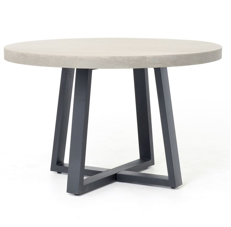 best 25 concrete dining table ideas on pinterest concrete table industrial cribs and. Black Bedroom Furniture Sets. Home Design Ideas