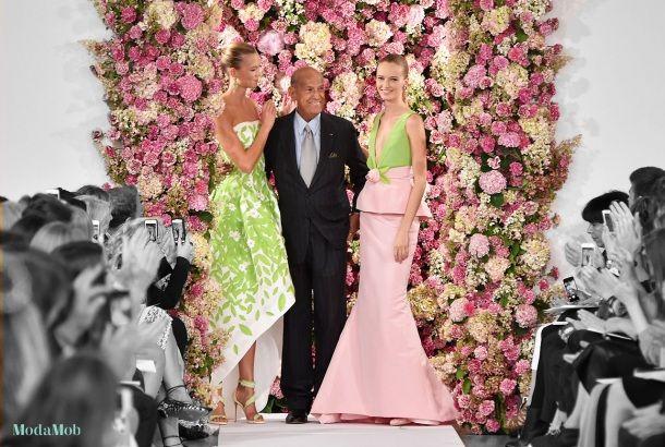Oscar de la Renta's 10 Most Iconic Gowns