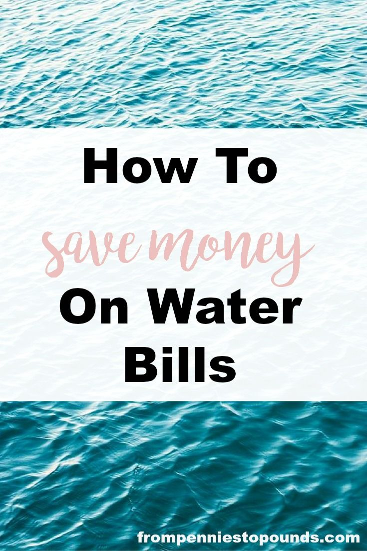 Halve your water bill like I did with these water saving tips: http://www.frompenniestopounds.com/water-saving-ideas-dont-watch-cash-go-drain/