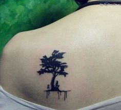Small Tree Tattoo Designs