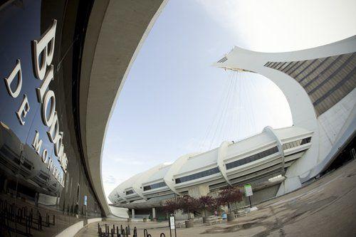 Le biodôme et le stade olympique de Montréal... (Photo: David Boily, Archives La Presse)